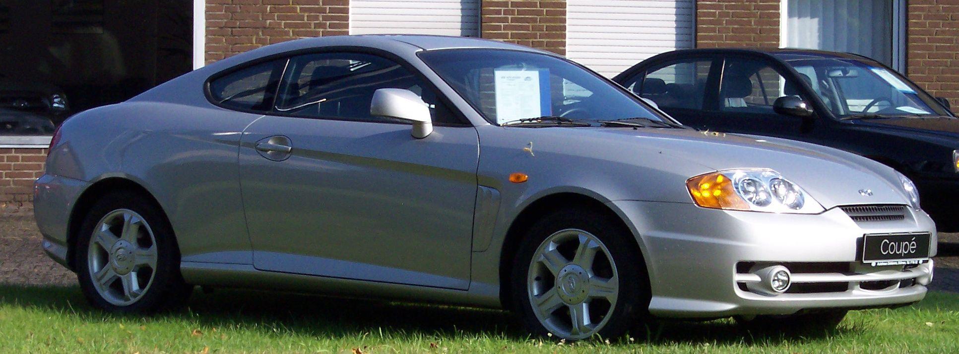 Fichier Hyundai Coupe 2005 Jpg Wikipedia