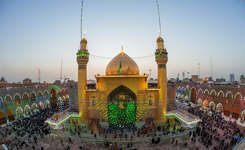 Maula Ali Shrine Wallpaper: Imam Ali Mosque