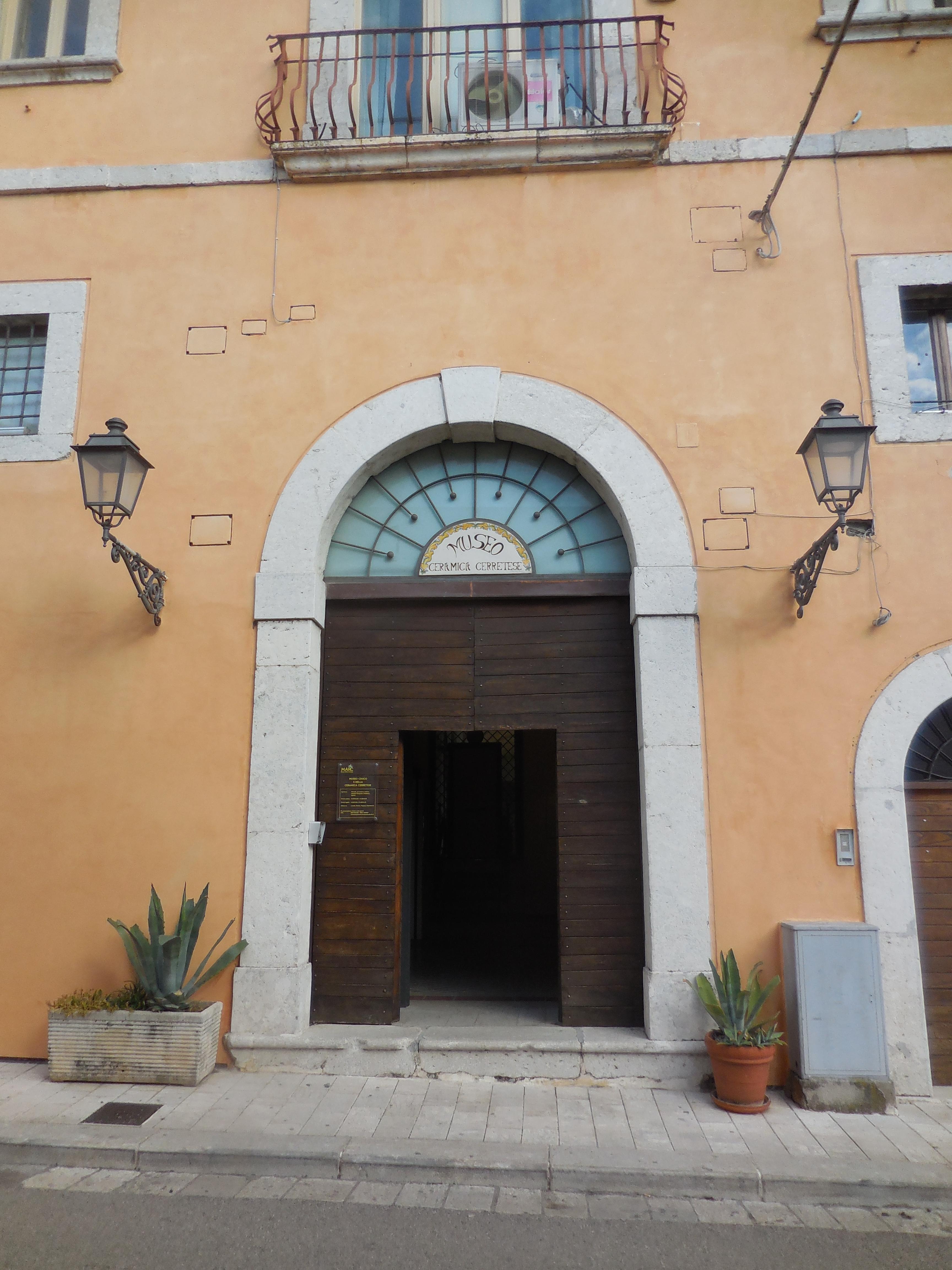 L Angolo Della Ceramica.Museo Civico E Della Ceramica Cerretese Wikipedia