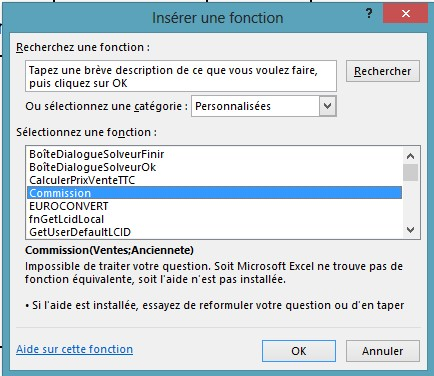 Macros Commandes Vba Creation De Fonction Wikiversite