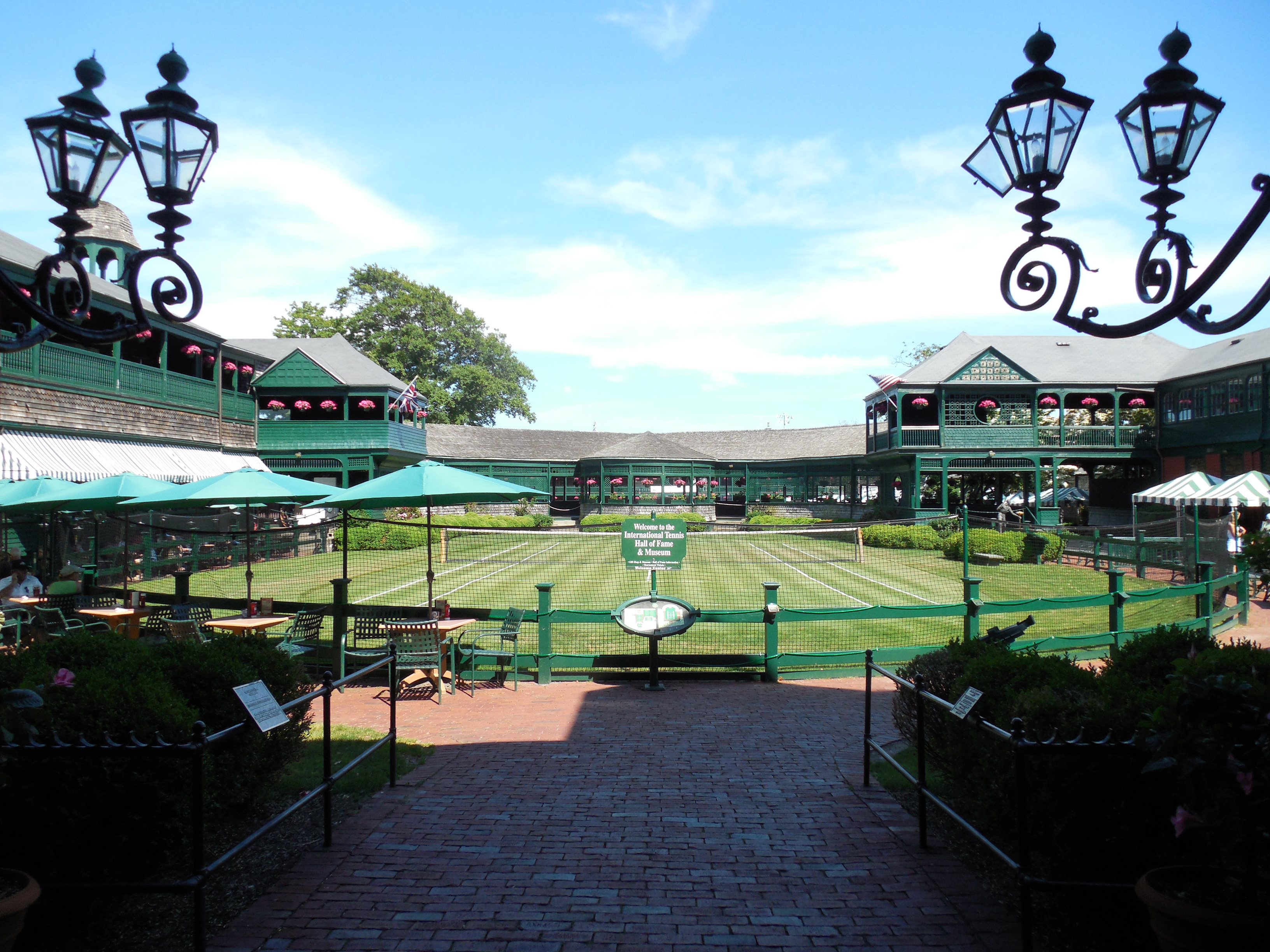 Newport Rhode Island Tennis Hall Of Fame