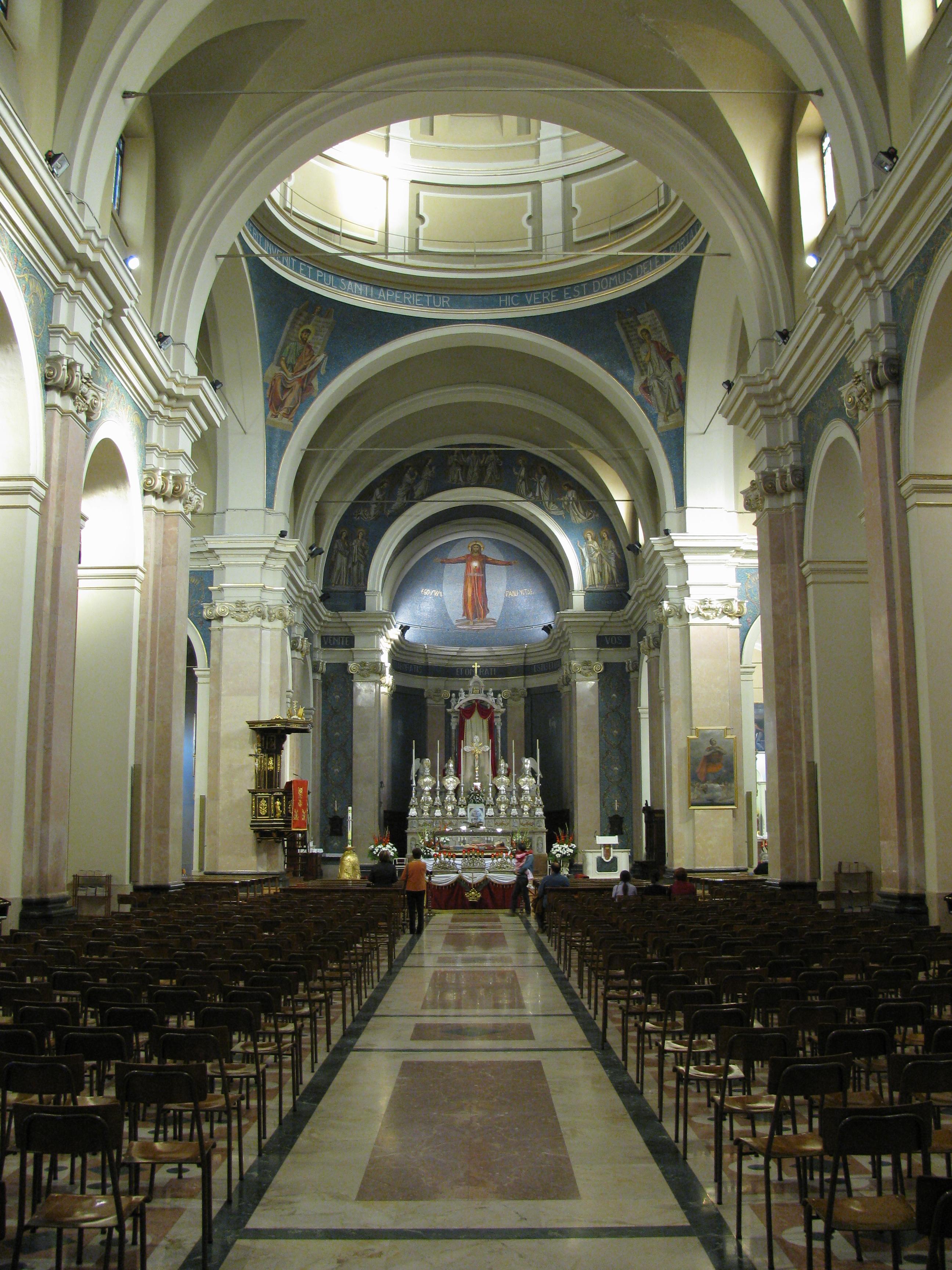 File Interno Chiesa Santa Anastasia Wikipedia