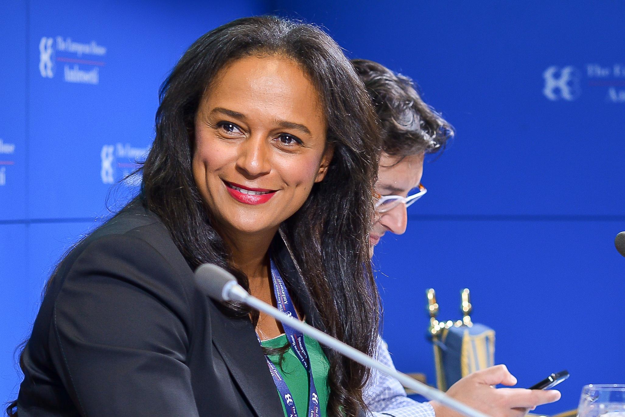 Isabel dos Santos - Wikipedia