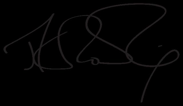 Podpis J. K. Rowling