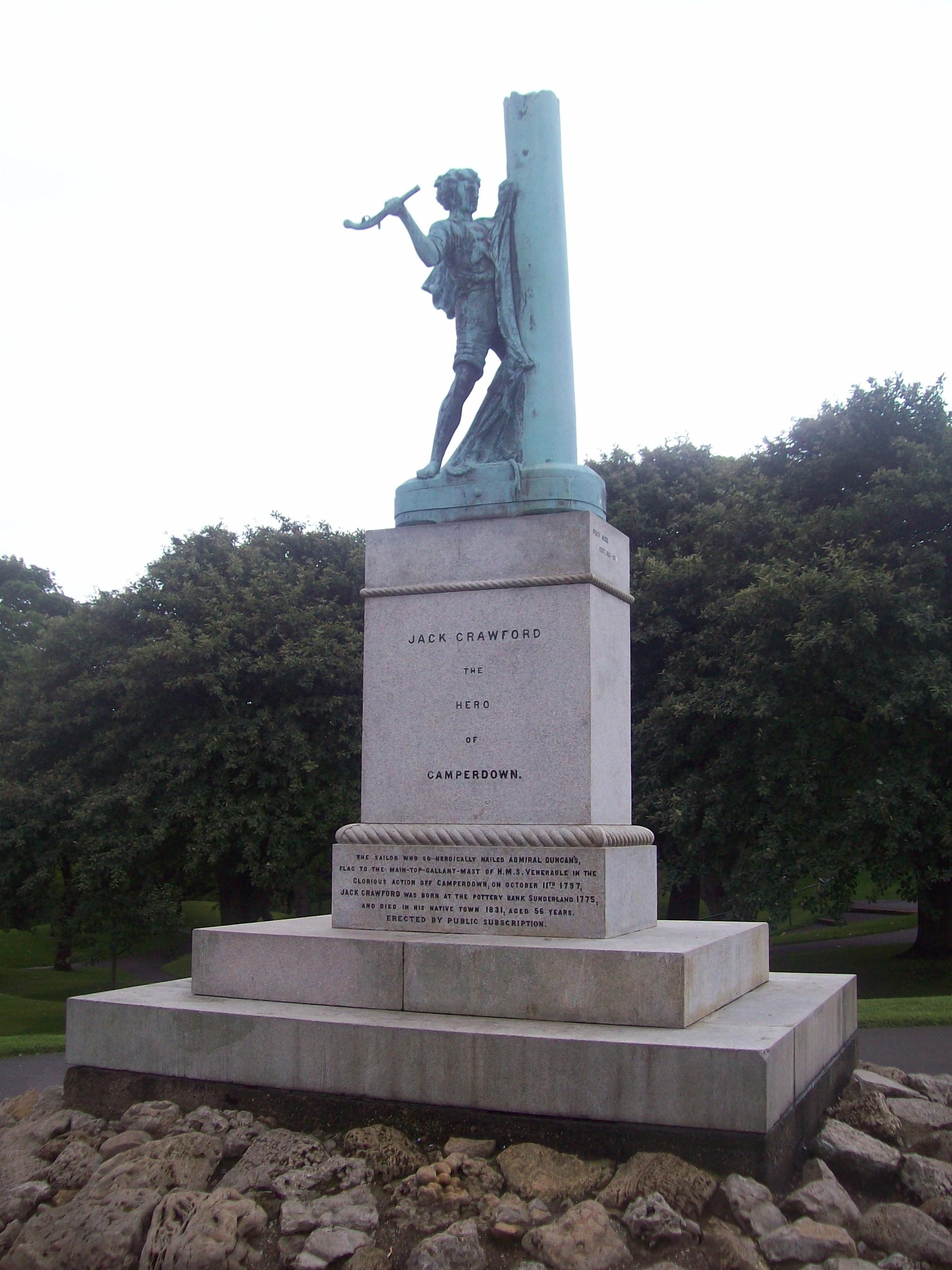 File Jack Crawford statue Wikimedia mons