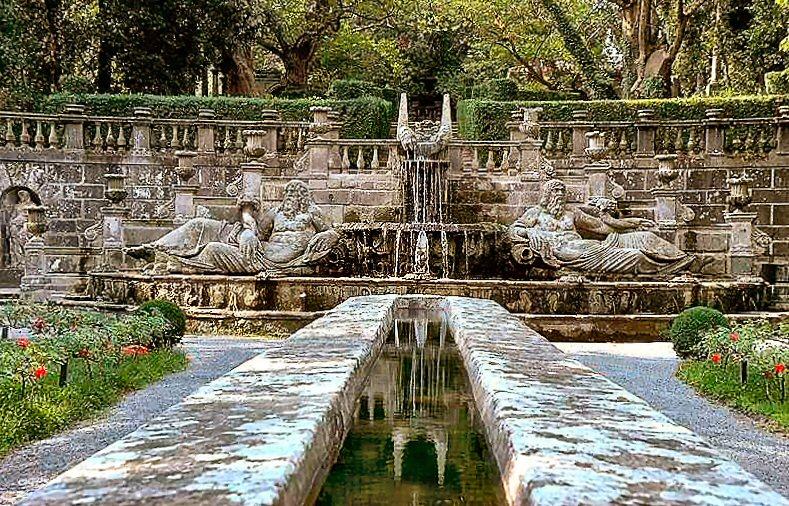 Villa Lante, Bagnaia, Fontana dei Giganti