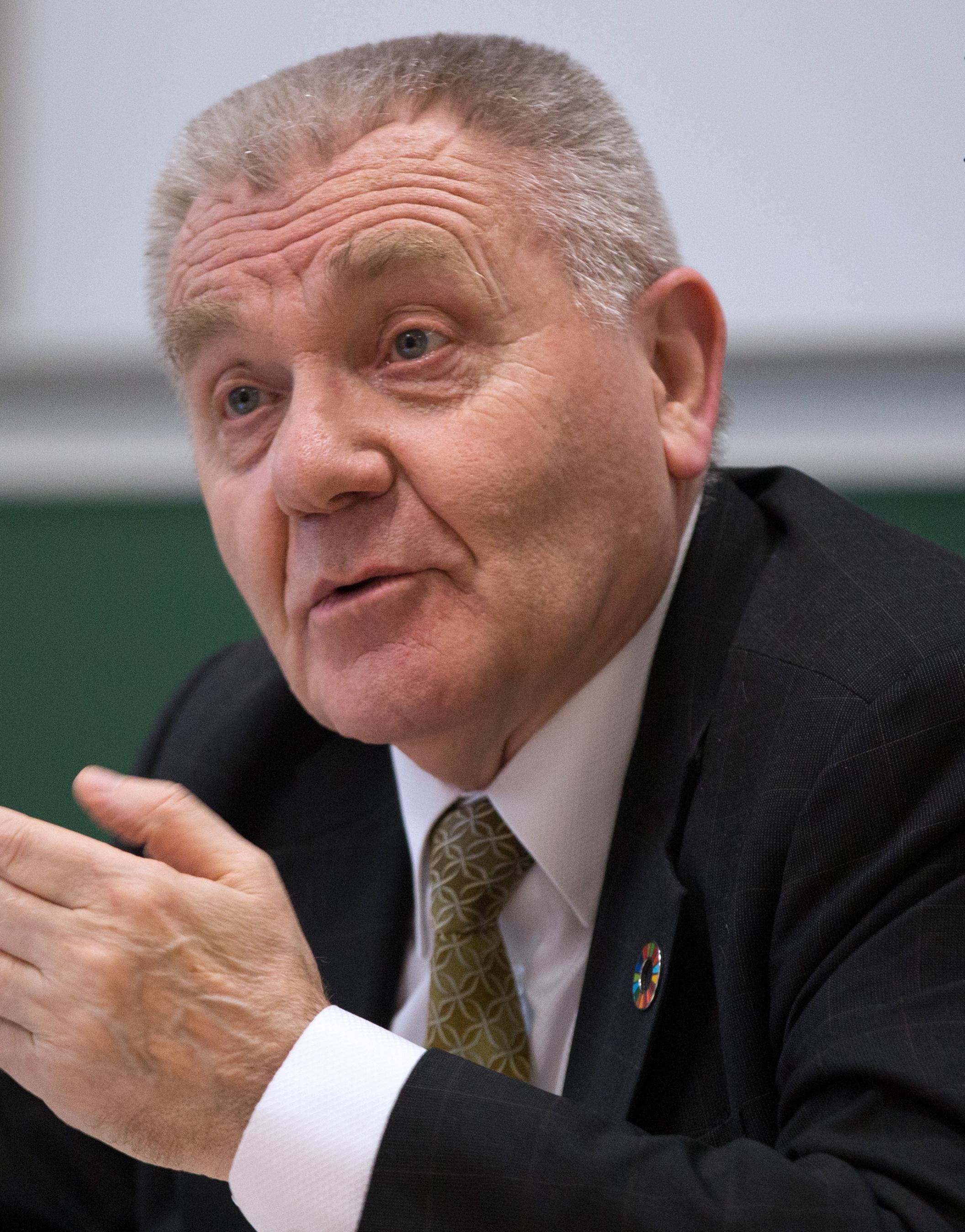 Jean-Pierre Bourguignon in 2017.