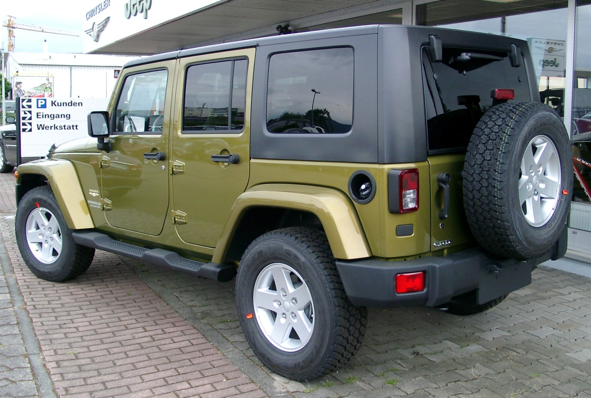 file:jeep wrangler unlimited rear 20080521 - wikimedia commons