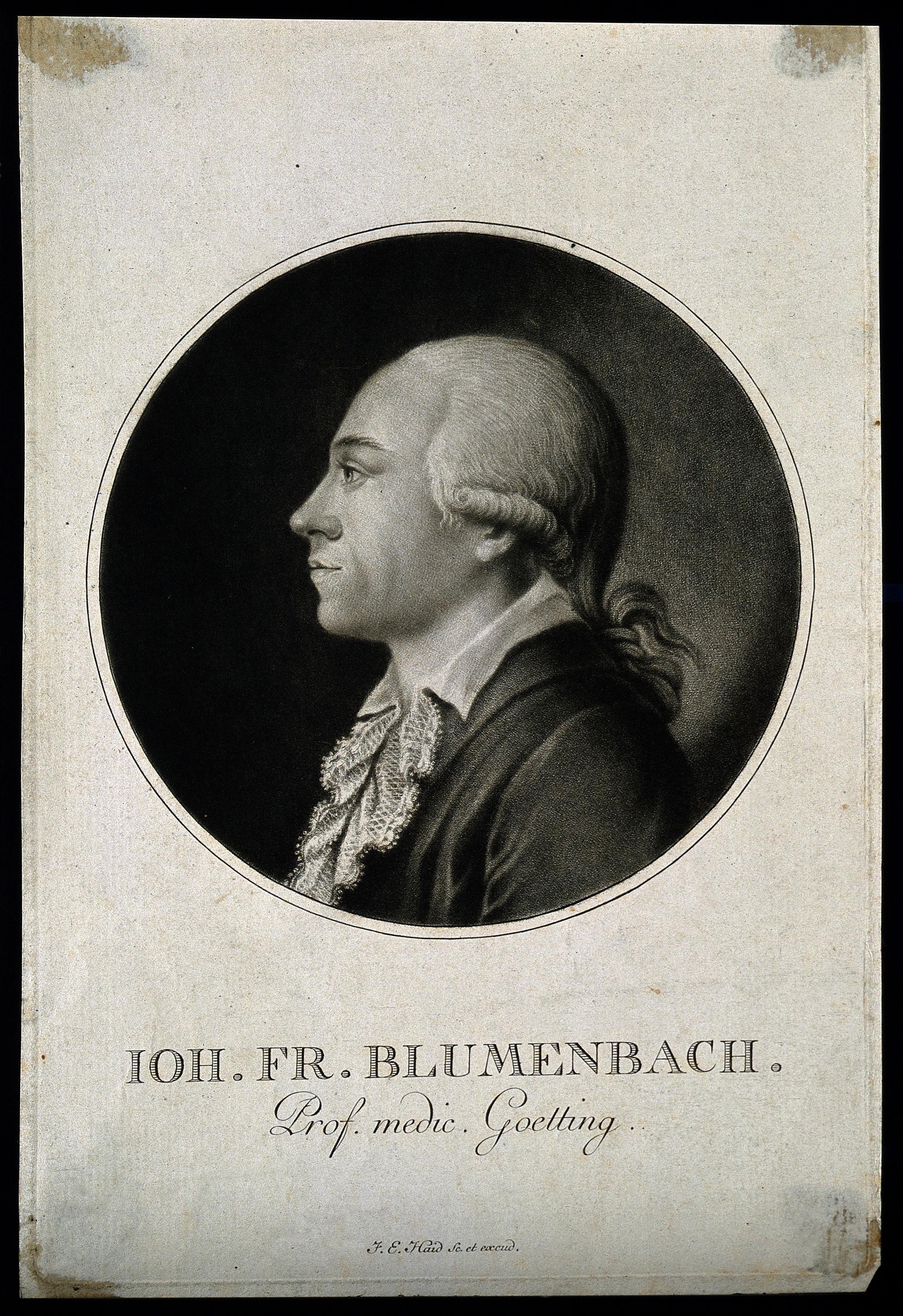 File:Johann Friedrich Blumenbach. Mezzotint by F. E. Haid. Wellcome V0000601.jpg