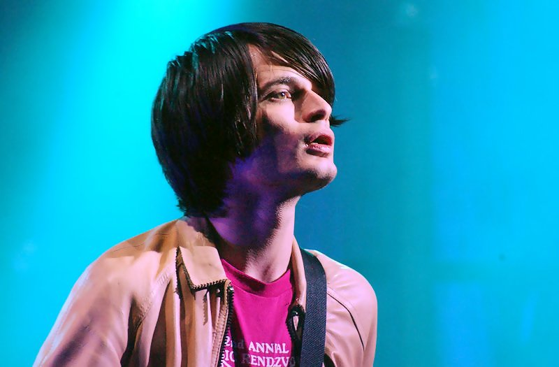 Radiohead guitarist, knob-twiddler, and introvert Jonny Greenwood.