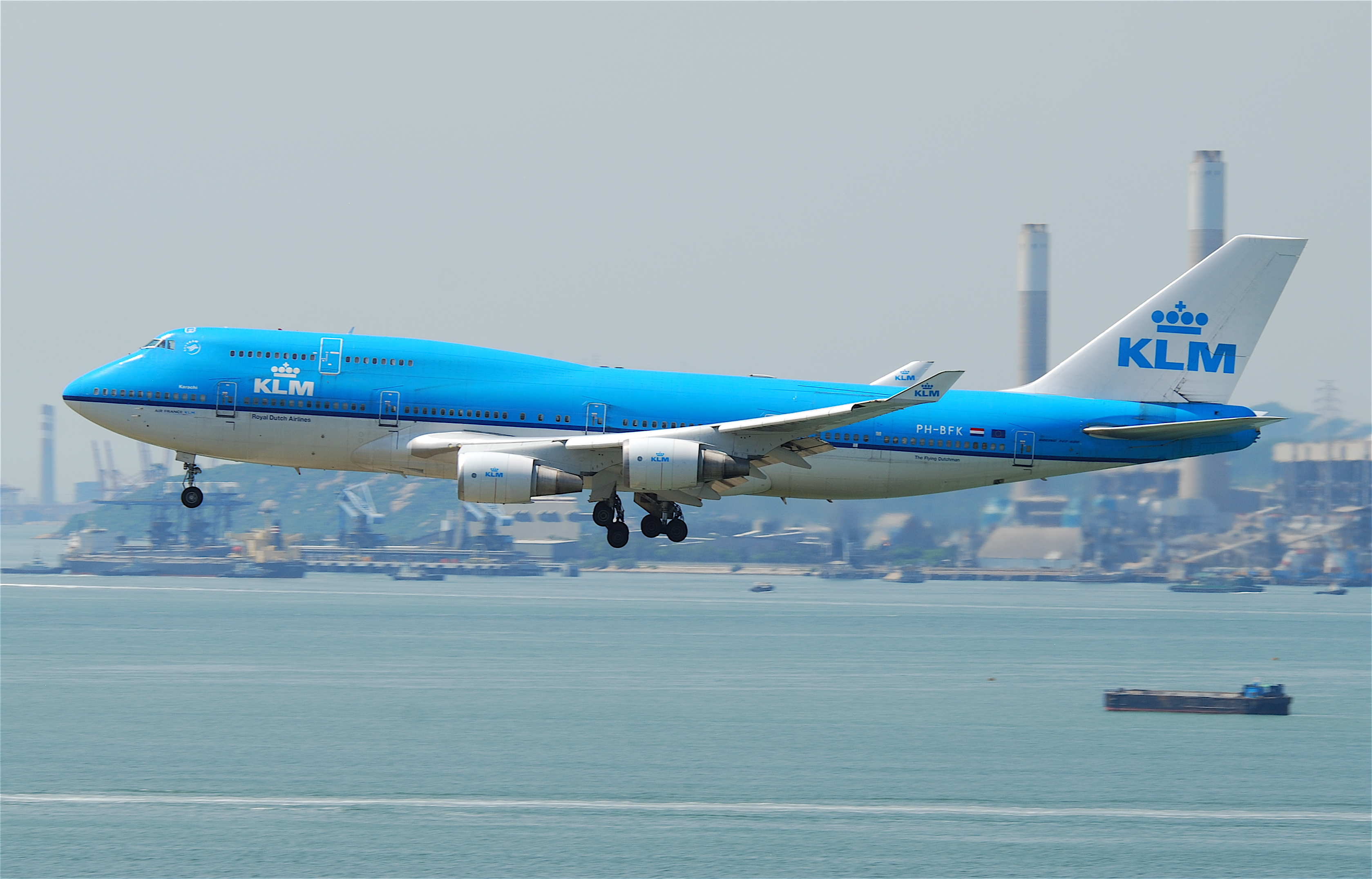 Bildresultat för klm boeing 747-400m