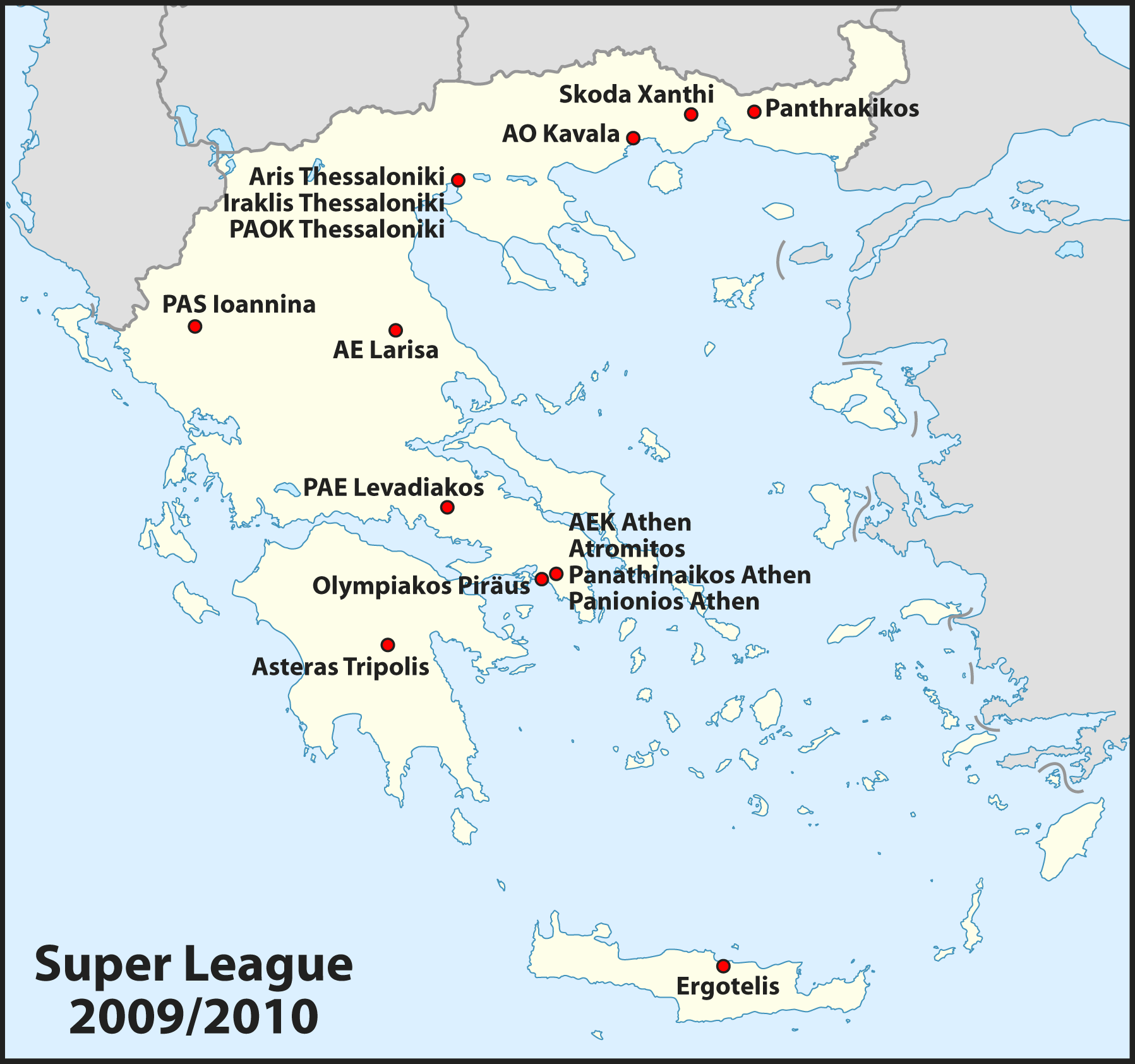 Griechenland Super League