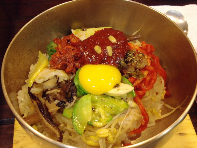 File:Korean cuisine-Jeonju bibimbap-01.jpg - Wikipedia, the free ...
