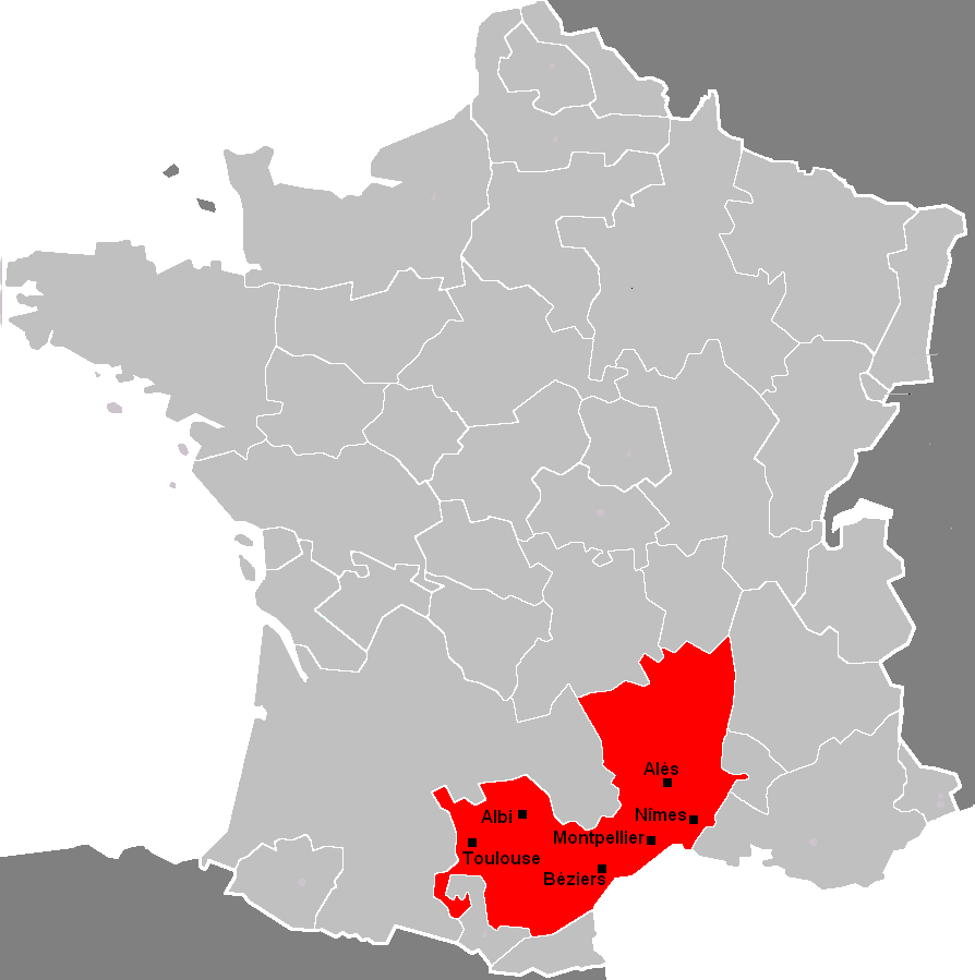 Depiction of Languedoc