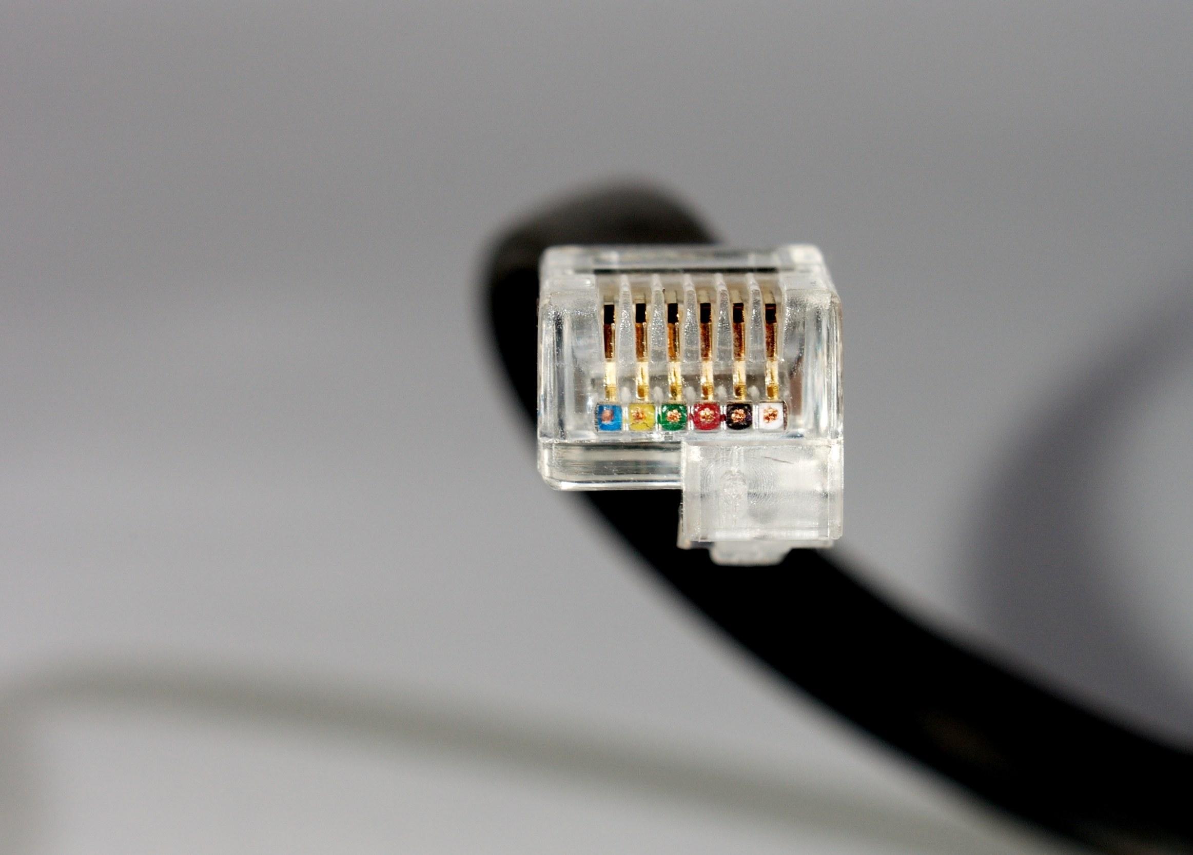 talk registered jack for offset tab connector edit