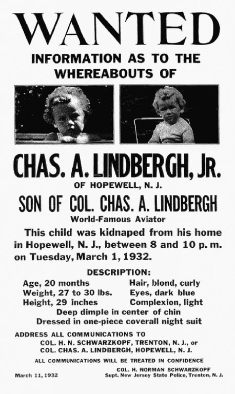 Image result for lindbergh kidnapping