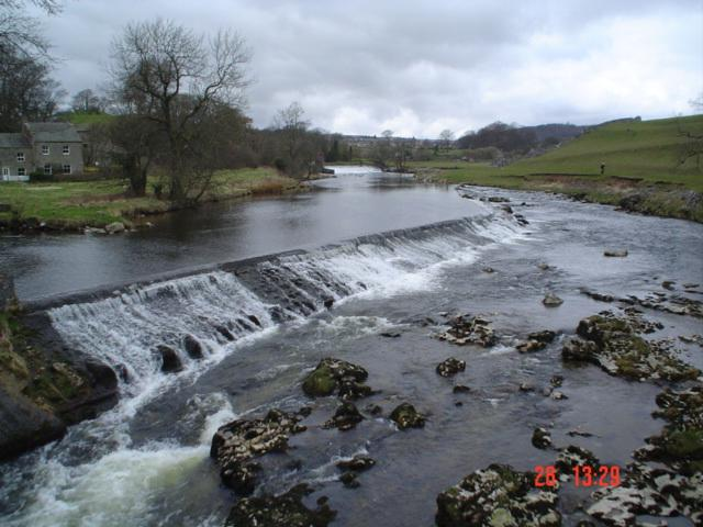 Linton Falls, near Grassington. - geograph.org.uk - 26534