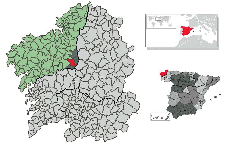 mapa de melides File:Location of Melide.png   Wikimedia Commons mapa de melides