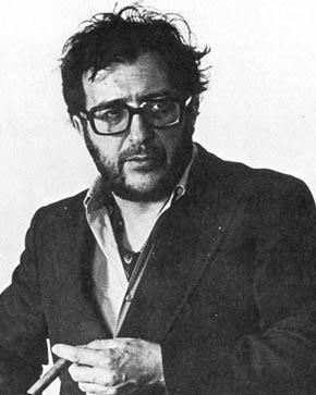 Luciano Berio, an Italian composer. Italiano: ...