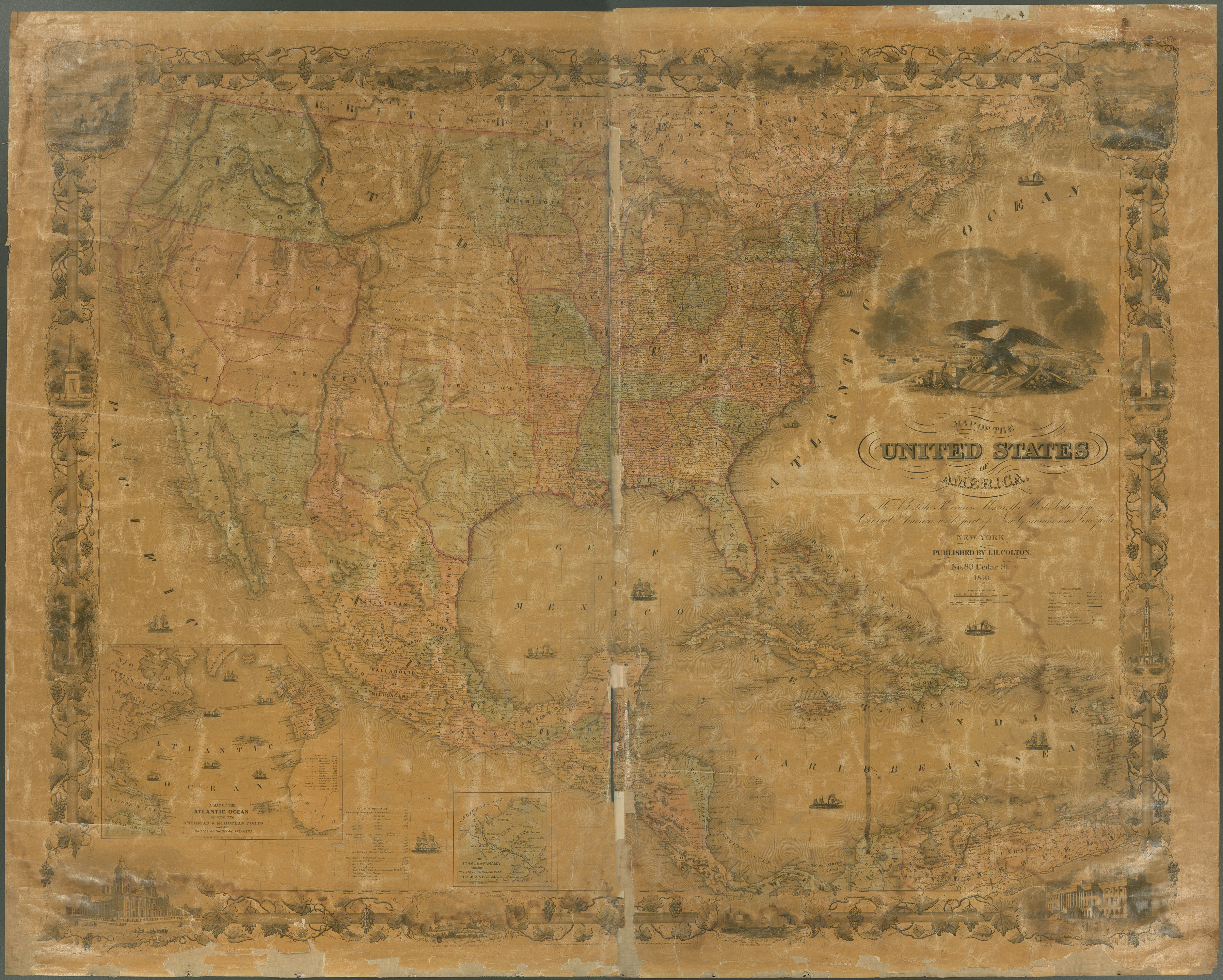 File:Map of the United States of America, the British ...