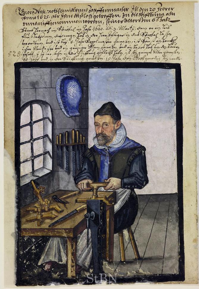 Zapfenmacher Georg Wehe