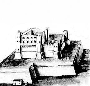 Messina castello di Matagrifone Rocca Guelfonia Torre bastione guelfonia