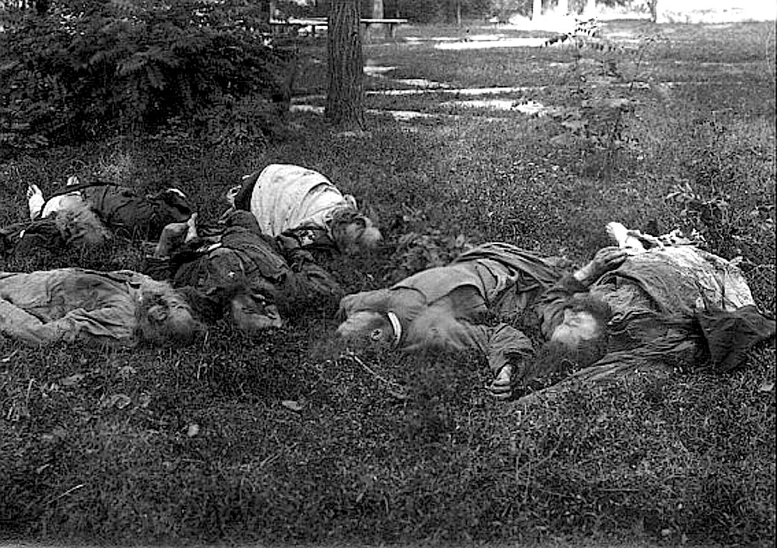 Расстрелянные Мгарские мученики.