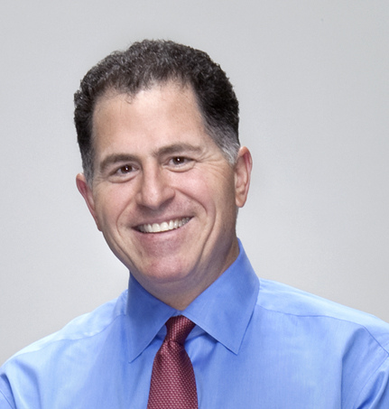 The 53-year old son of father Alexander Dell and mother Lorraine Charlotte Michael Dell in 2018 photo. Michael Dell earned a  million dollar salary - leaving the net worth at 19000 million in 2018