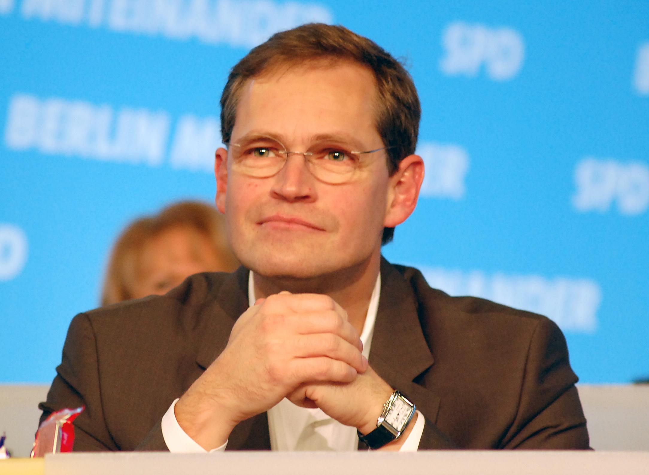 Der Regierende Bürgermeister Michael Müller, SPD