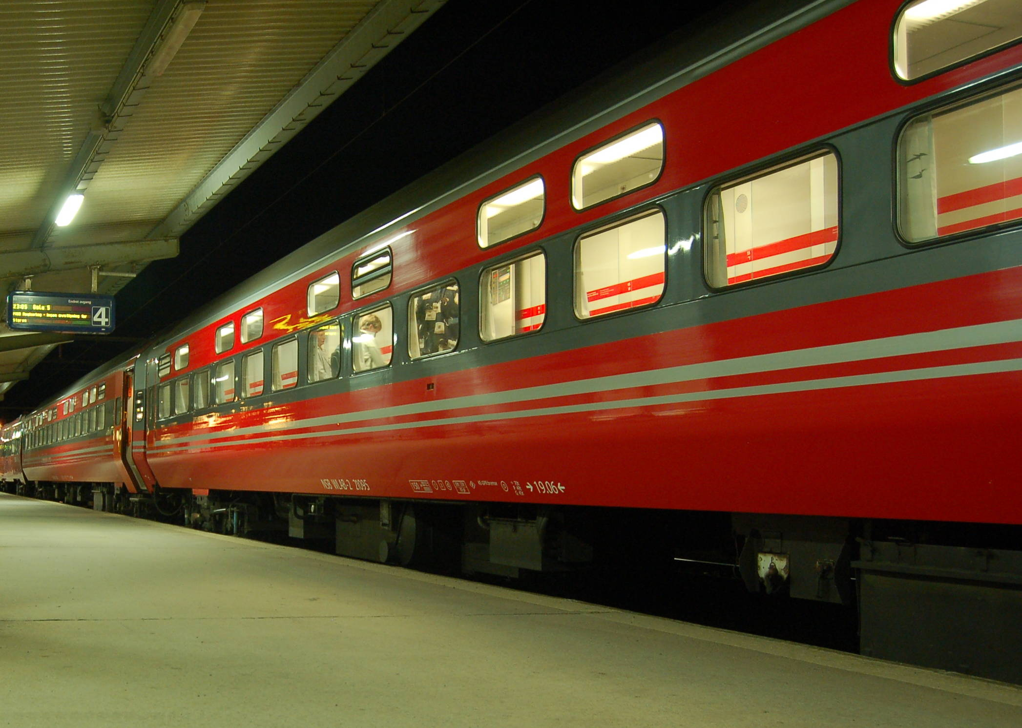 Train Travel From Oslo To Trondheim