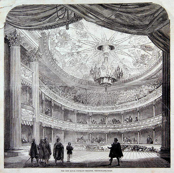 New Royal Theatre 1858