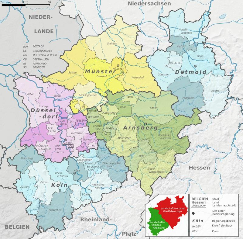 prostate Münster(North Rhine-Westphalia)