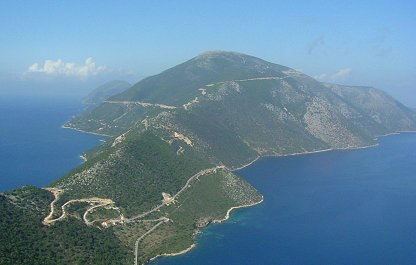 Isla griega de Ítaca