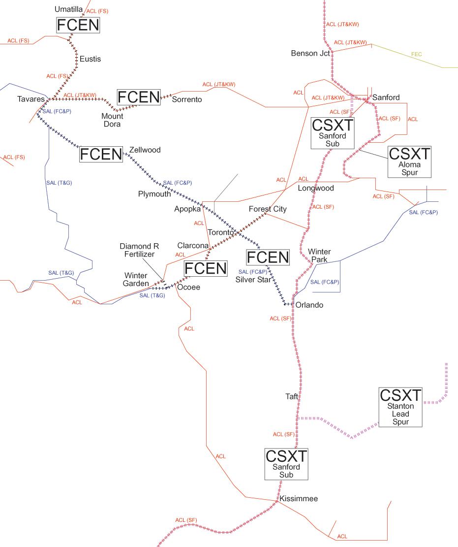 East Florida and Atlantic Railroad - Wikipedia