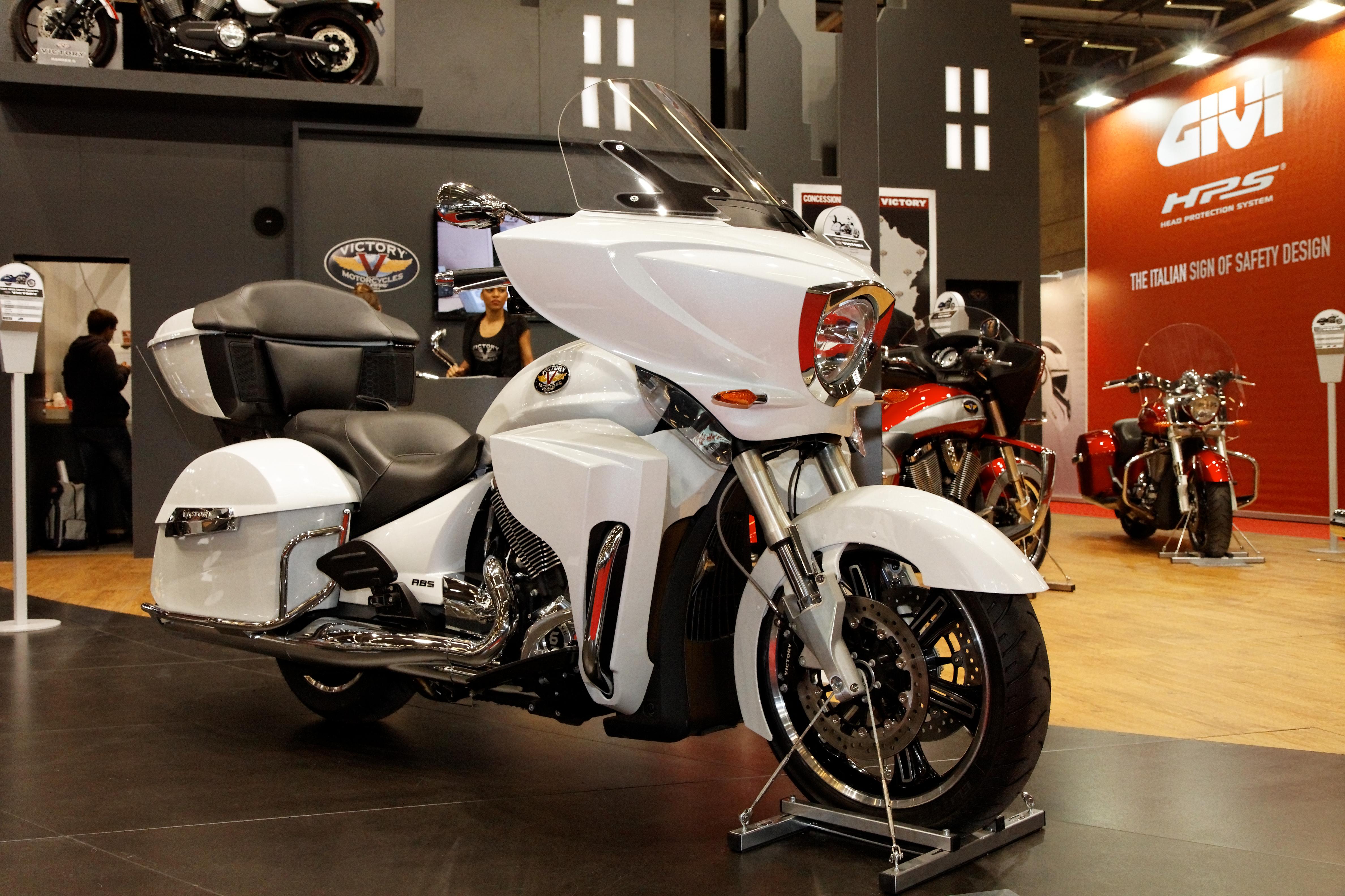 File paris salon de la moto 2011 victory cross - Salon de la moto tours ...