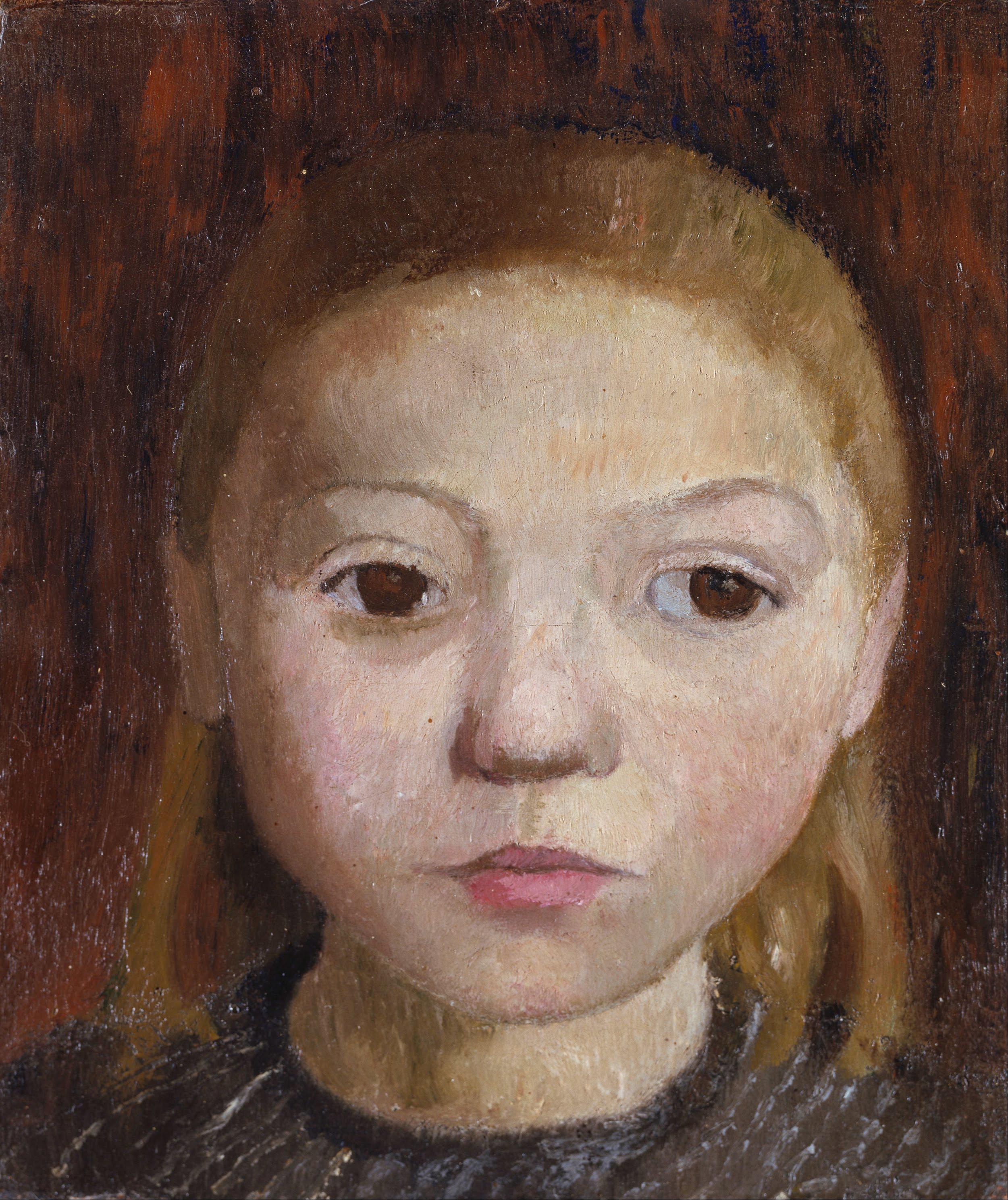 File Paula Modersohn Becker Head Of A Girl Google Art Project