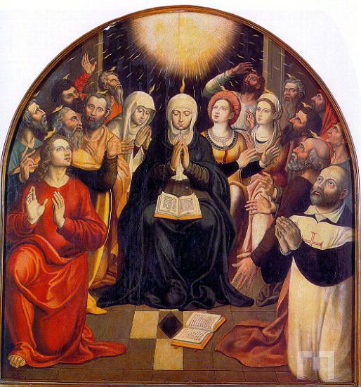 Ficheiro:Pentecostes - autor desconhecido.jpg – Wikipédia, a enciclopédia  livre