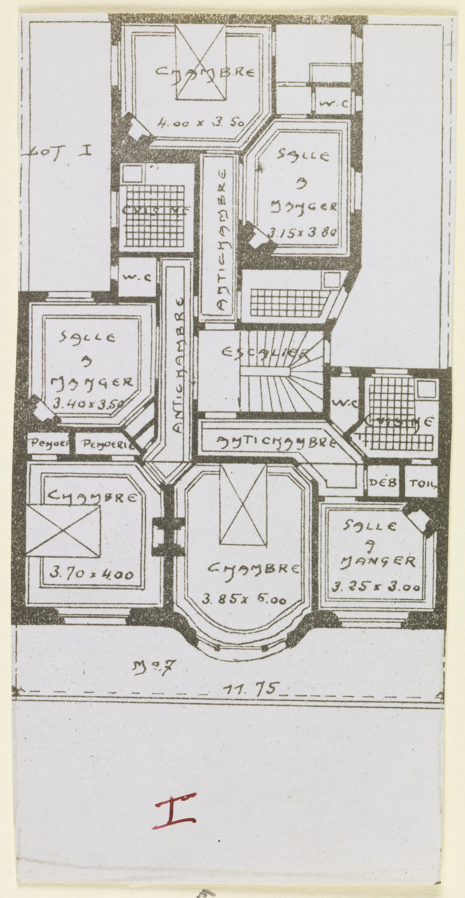 File:Photograph, Photograph of a Floor Plan of an Apartment ...
