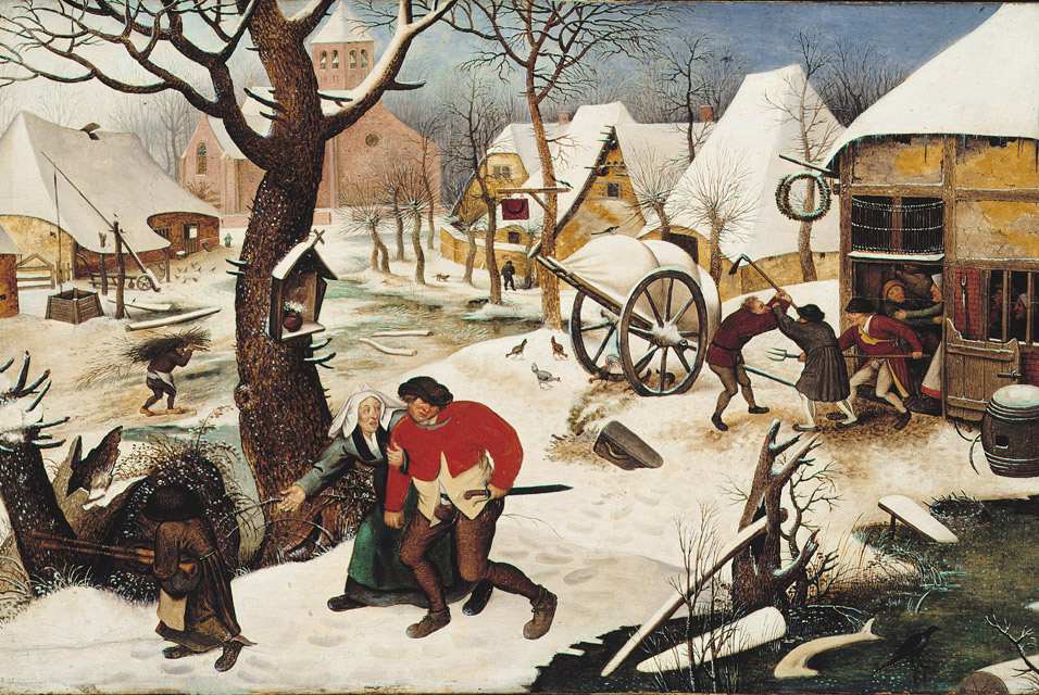 file pieter brueghel the younger return from the. Black Bedroom Furniture Sets. Home Design Ideas
