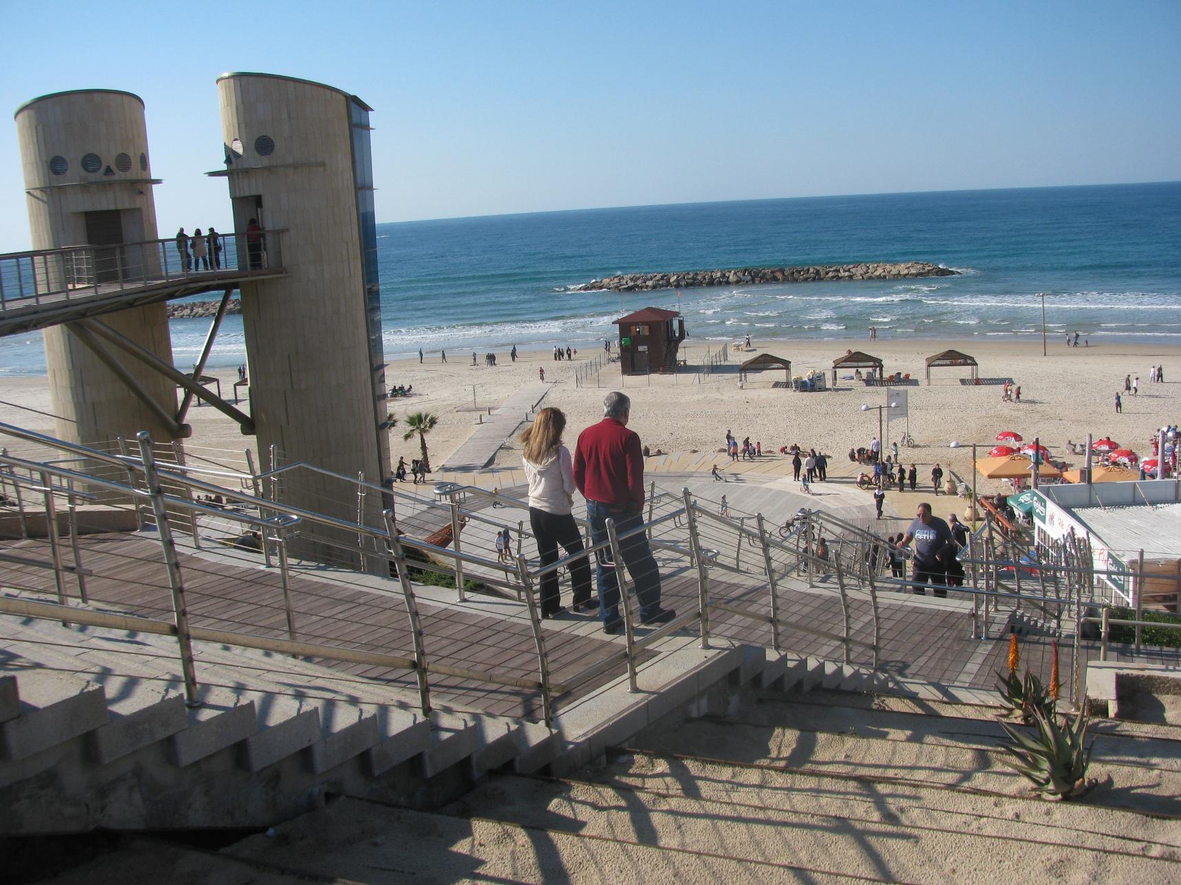 Herzliya Beach Restaurants
