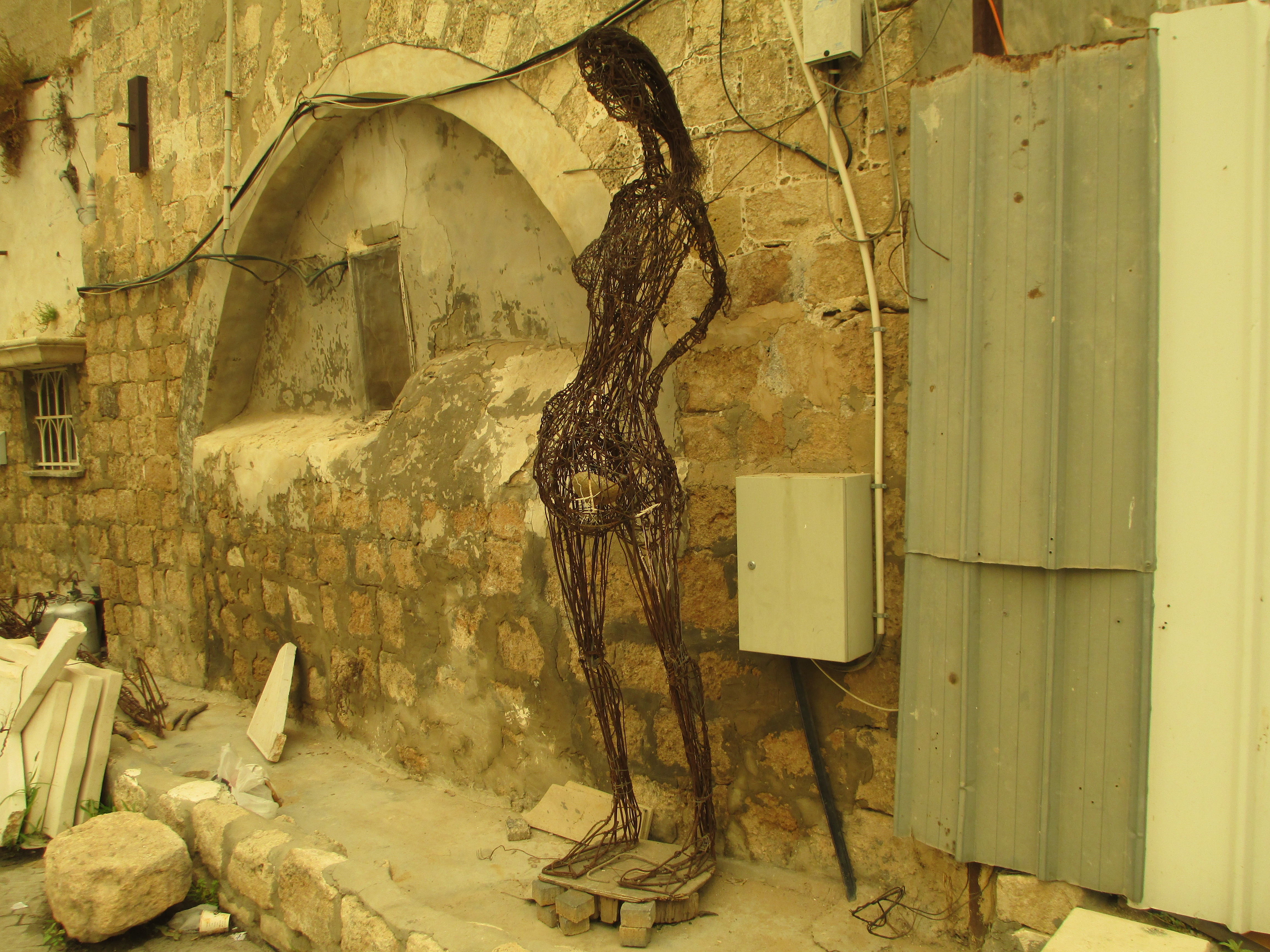 File:PikiWiki Israel 44961 Pregnant woman sculpture by Nihad Dabeet ...