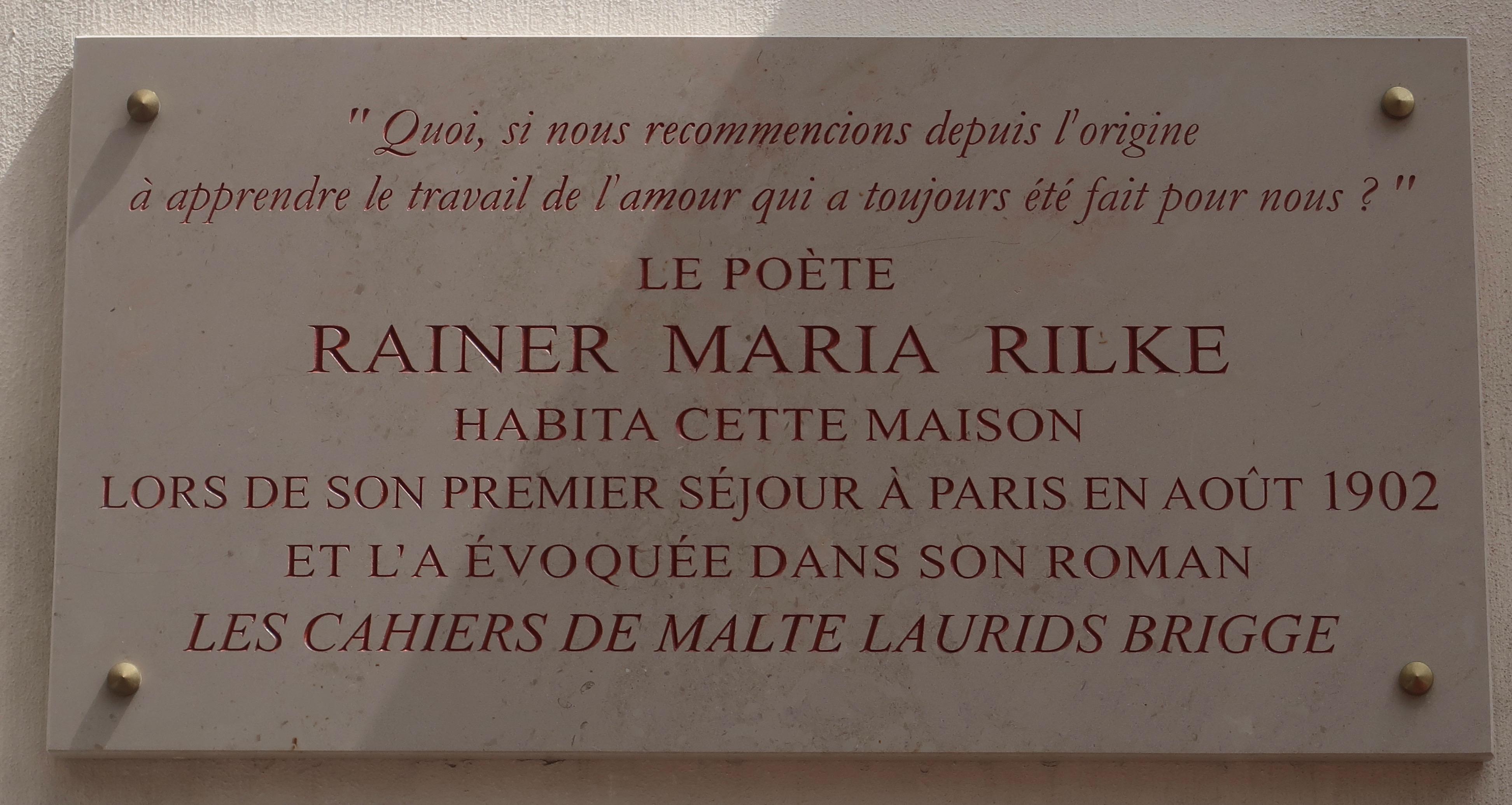 Rainer Maria Rilke Wikiwand