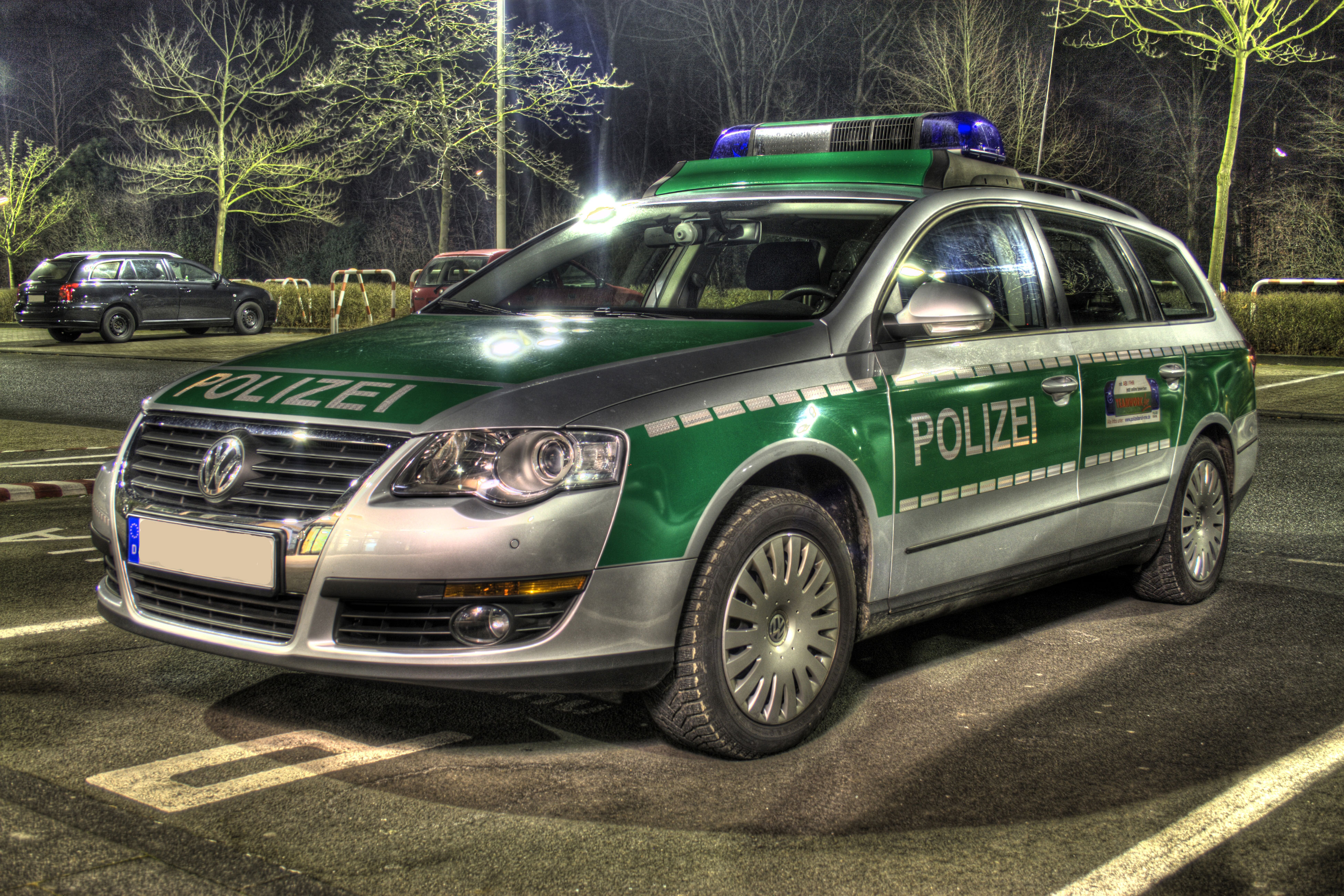 File Polizei Vw Passat Hdr Jpg Wikimedia Commons