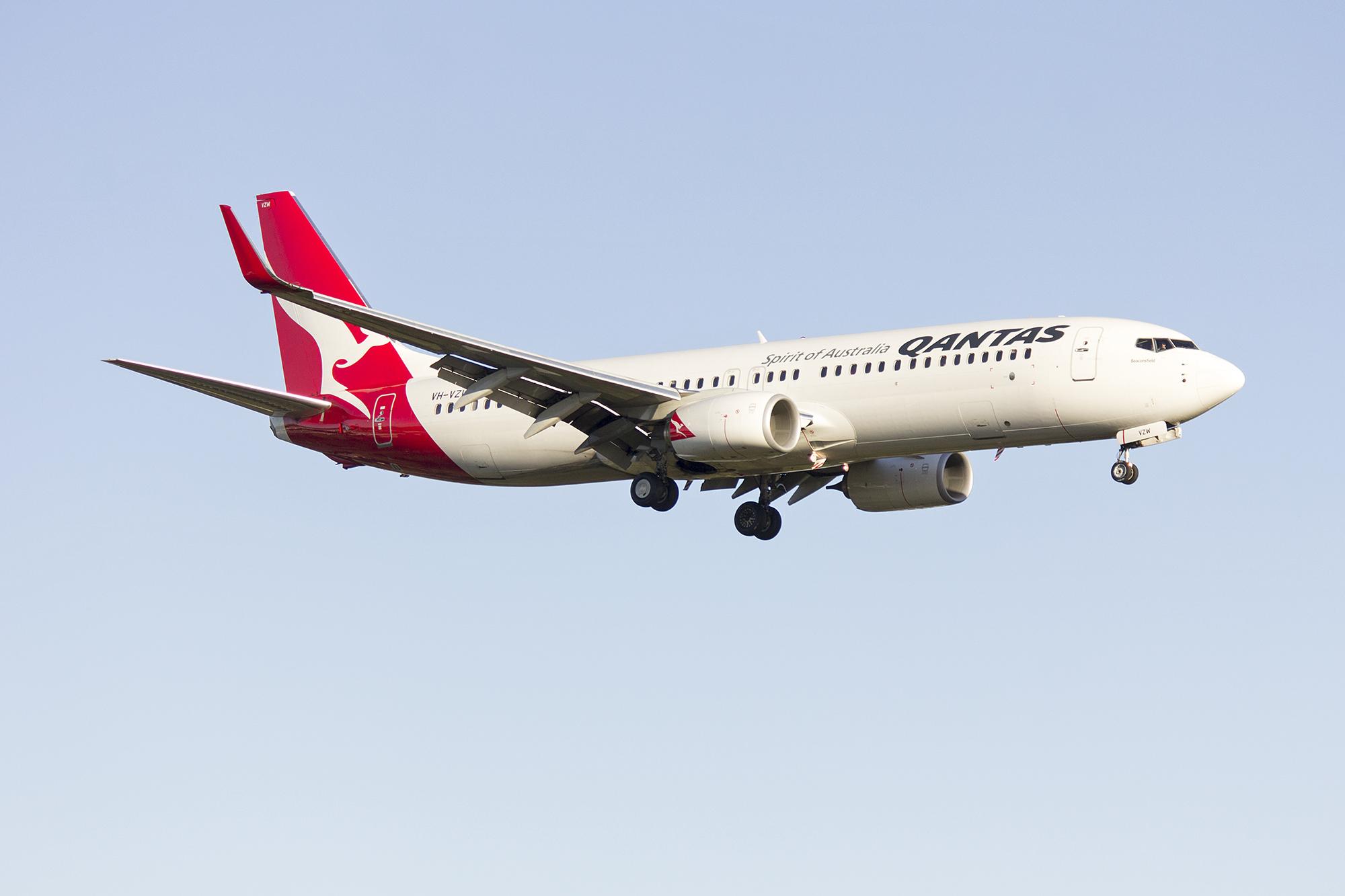 Resultado de imagen para Qantas Airways Boeing 737 Sidney Airport