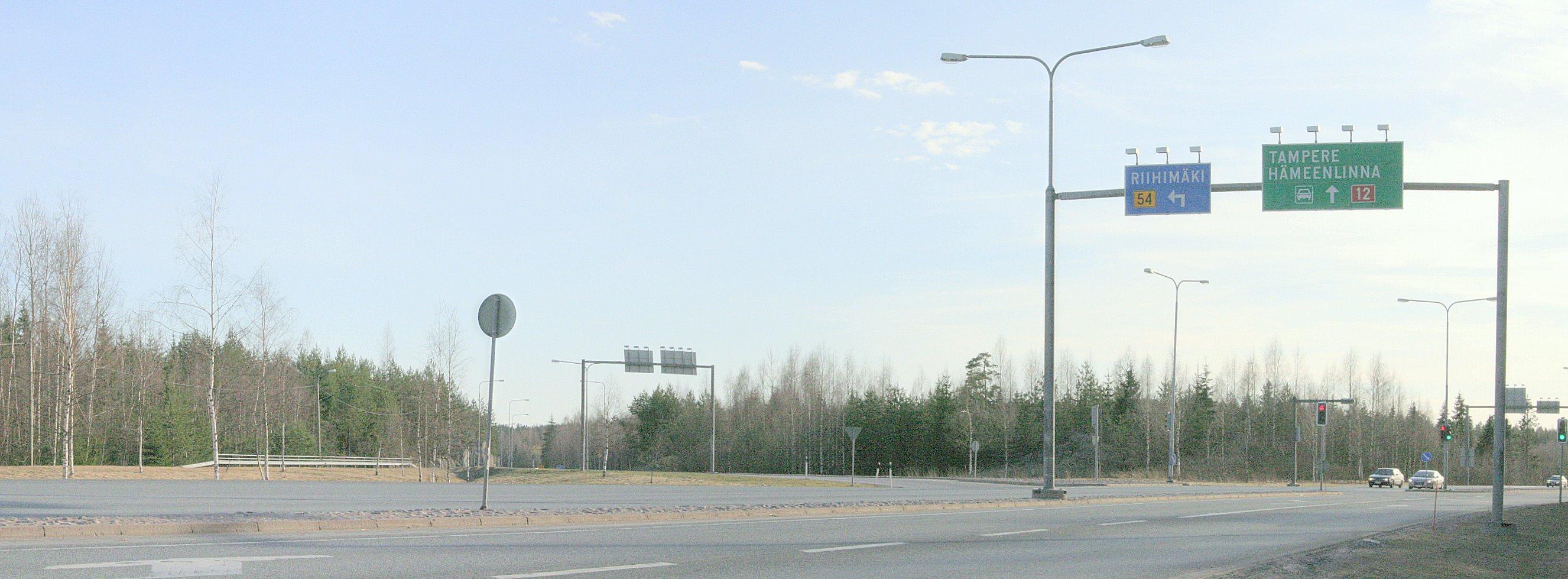 File:Road 54 main road 2nd class Okm Finland.jpg - Wikimedia Commons
