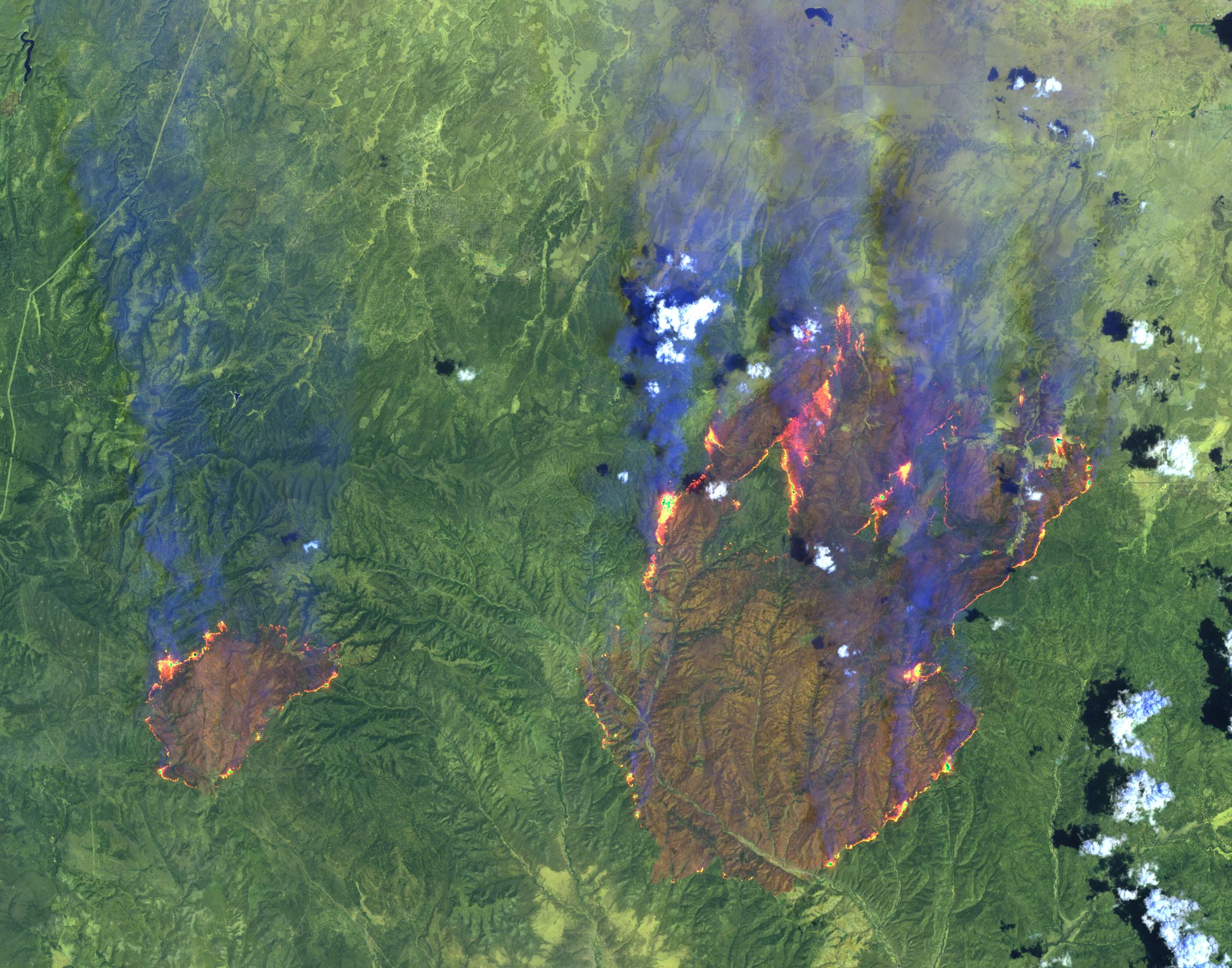 Arizona Active Fire Map.Rodeo Chediski Fire Wikipedia