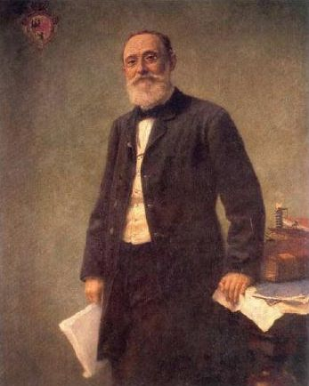 Rudolf Virchow by Hugo Vogel, 1861