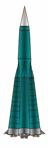 Il sovietico SS-6 Sapwood, il primo ICBM operativo