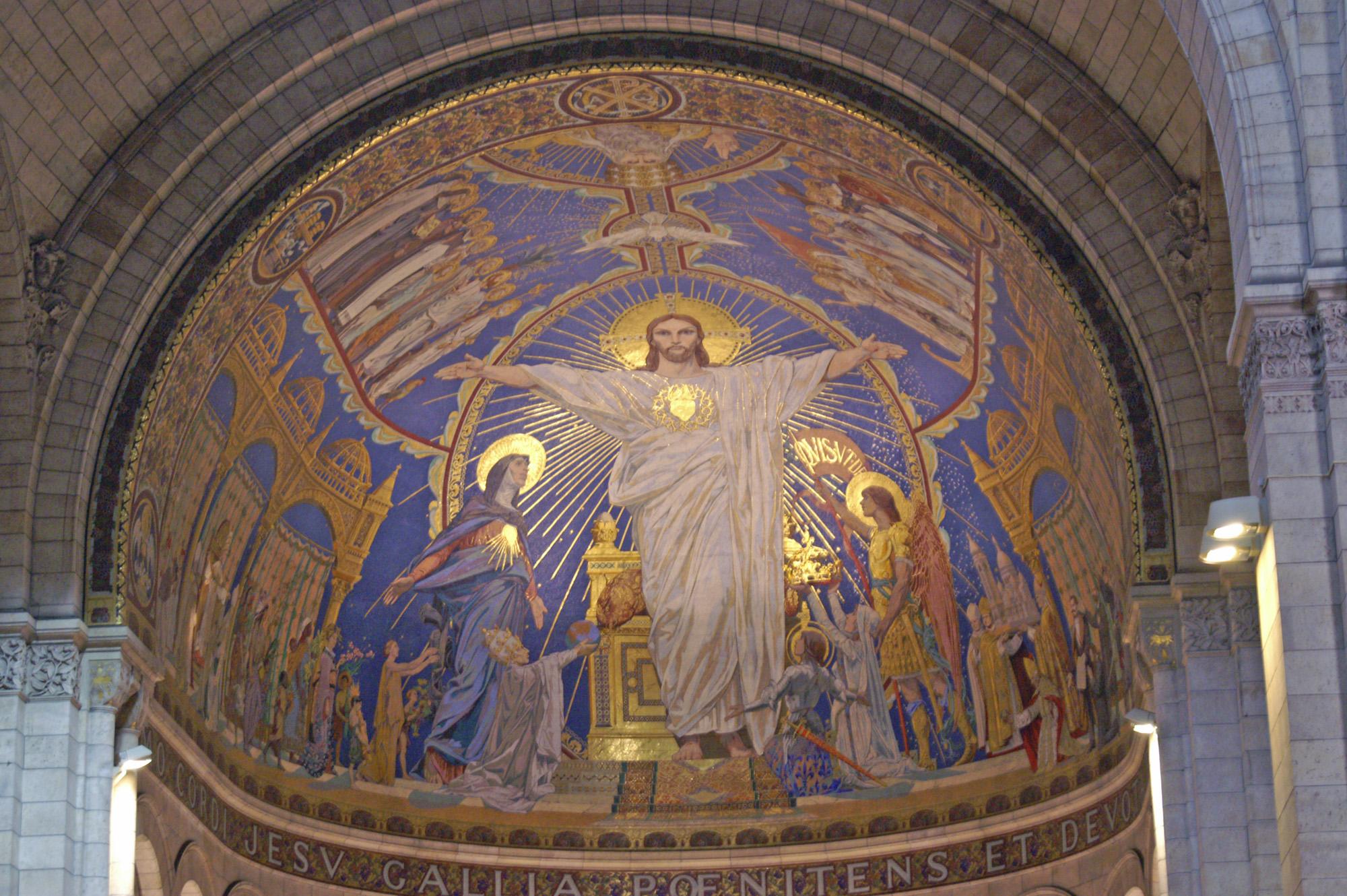 Basilique du Sacre Coeur, Mosaique de l'abside dans images sacrée Sacre_Coeur_-_Mosaique_de_l%27abside