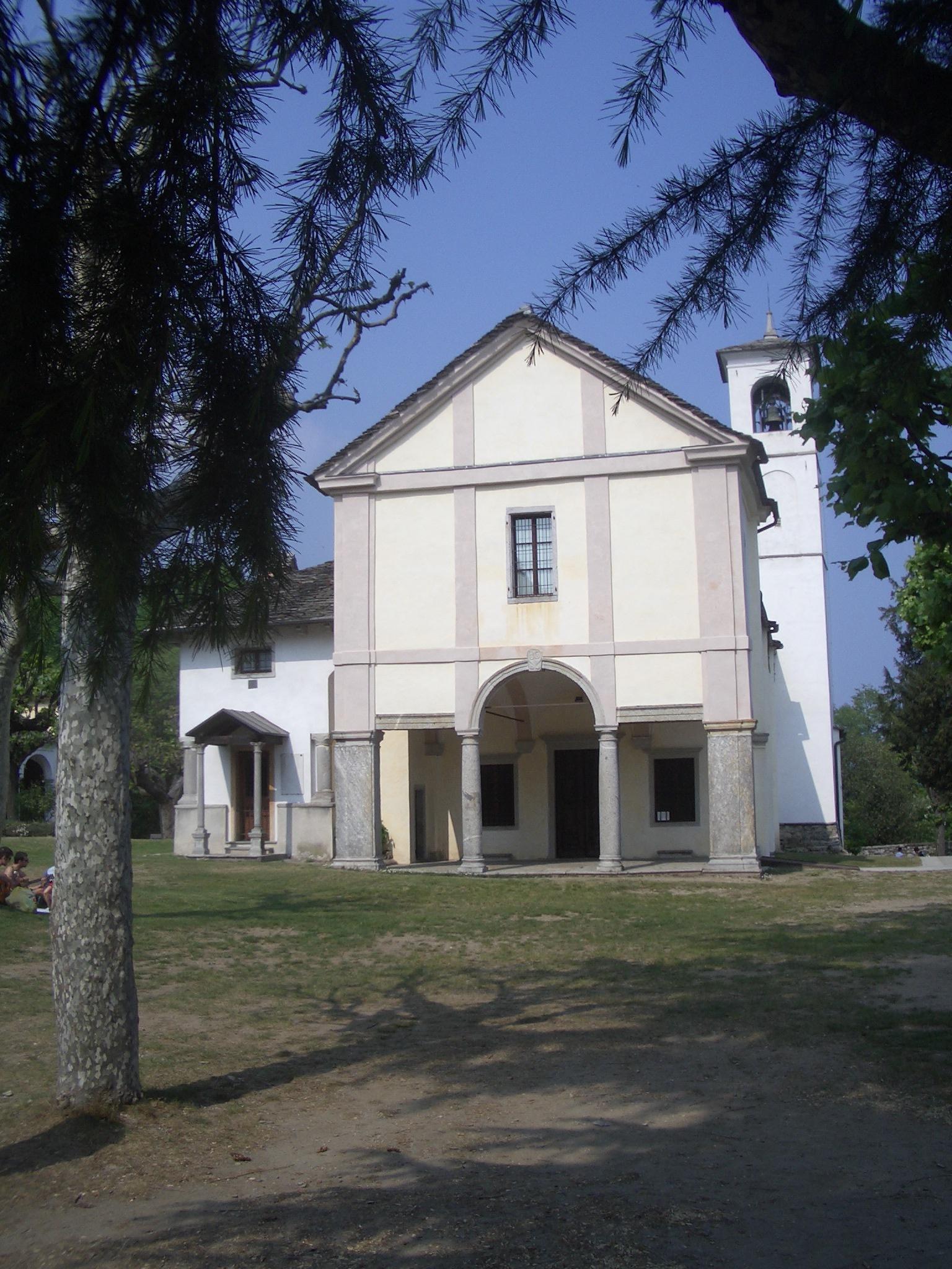 Ghiffa Italy  city photos gallery : Sacro Monte Ghiffa Santuario Trinità Wikipedia